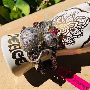 Betsey Johnson Mouse Cuff Bracelet